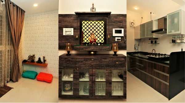 Pooja Unit / Kitchen